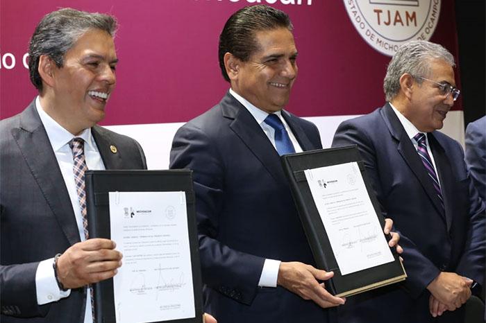 Proyectan descentralizar la justicia administrativa en Michoacán