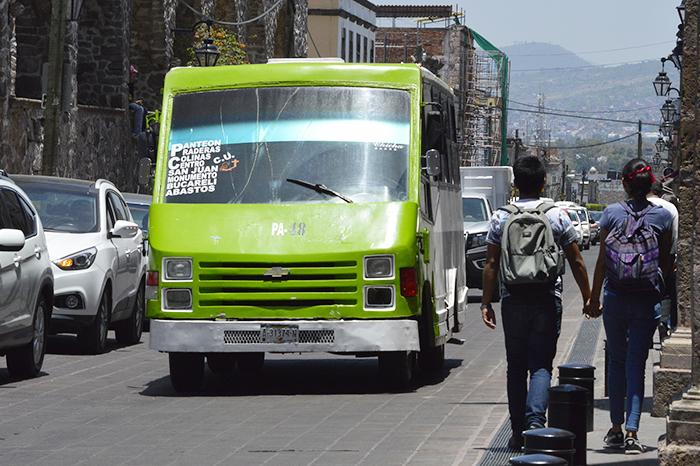 transporte en Morelia
