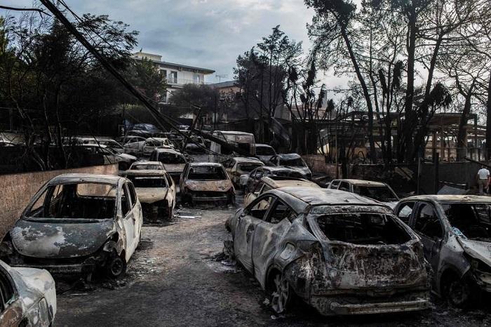 Grecia: ya son 88 los muertos por los incendios