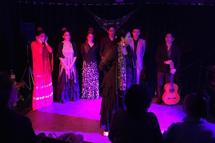 Hojas de Té, flamenco, Marién Luévano y Selene González