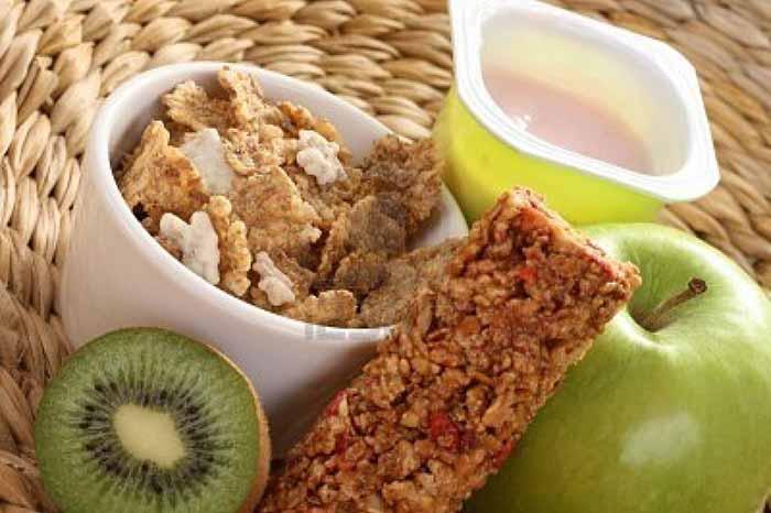 colaciones para comer sano