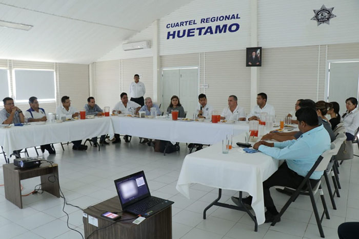 cuartel regional de huetamo