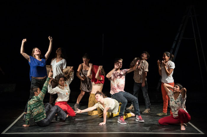 encuentro de creadores de danza en México