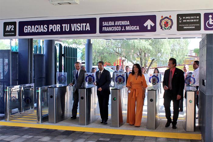 inauguran acceso a ciudad universitaria