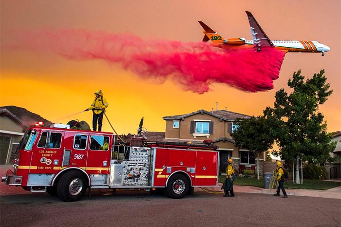 incendio en california pone en alerta a autoridades