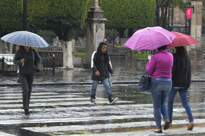 lluvias por la tarde en morelia