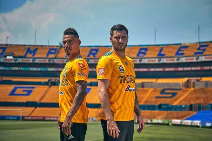 Y sorprenden Los Tigres  tienen de las playeras más bonitas del ... 299d5e535a25c