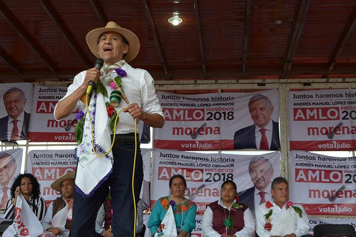 Osiel Equihua fue postulado por Morena para participar como diputado