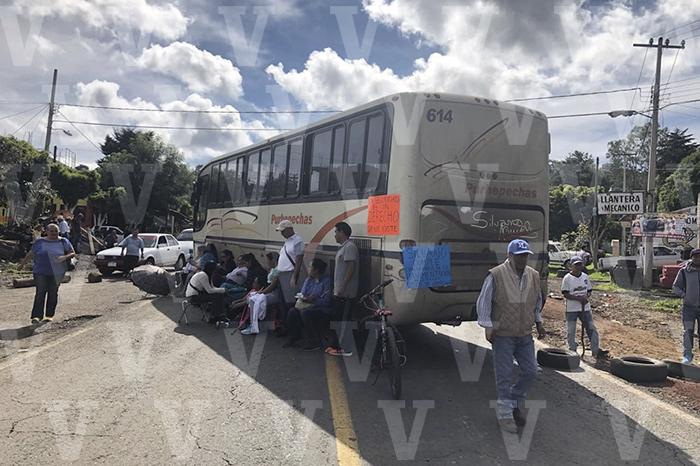 bloqueos carreteros