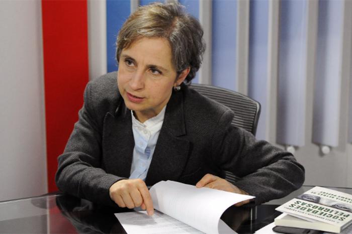 Aristegui regresa a la radio con Grupo Radio Centro