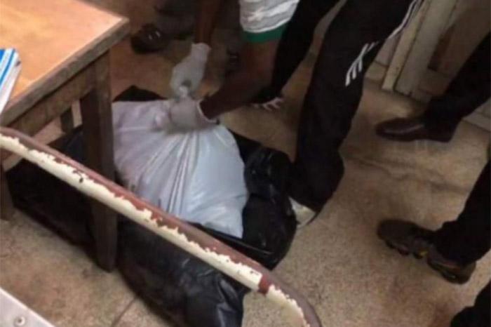 Escalofriante: encontraron en un hospital cajas con bebés muertos