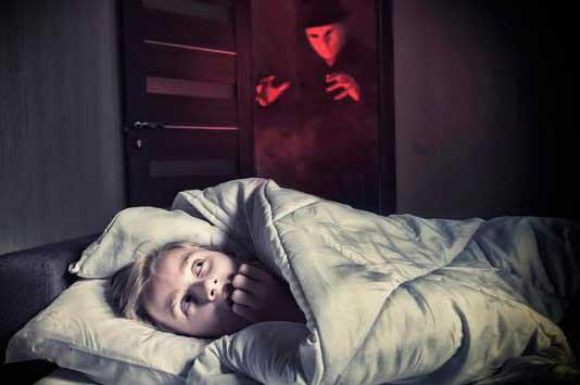 pesadillas es porque no duermes bien