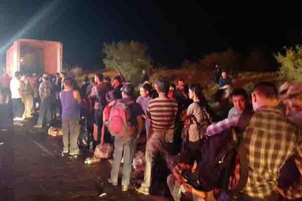 rescatan a migrantes en nuevo leon