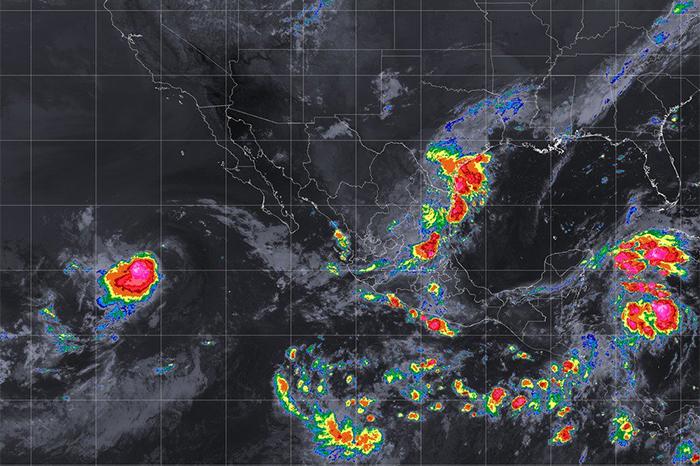 se esperan fuertes lluvias este lunes