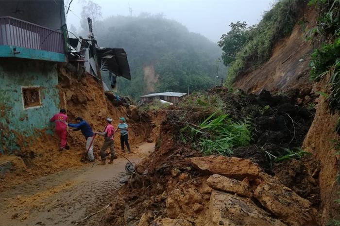deslizamiento colombia