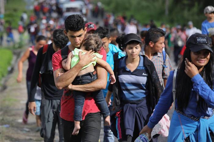 De los 403 migrantes centroamericanos que permanecieron en la Ciudad de México, solo quedan 65.