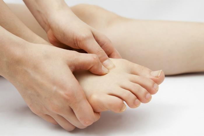 pies inflamados