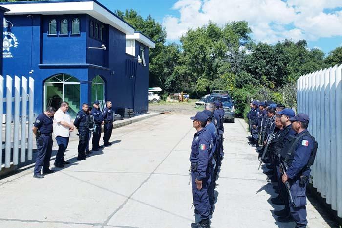 mandos policias en municipios michoacanos