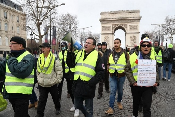 Protesta de los