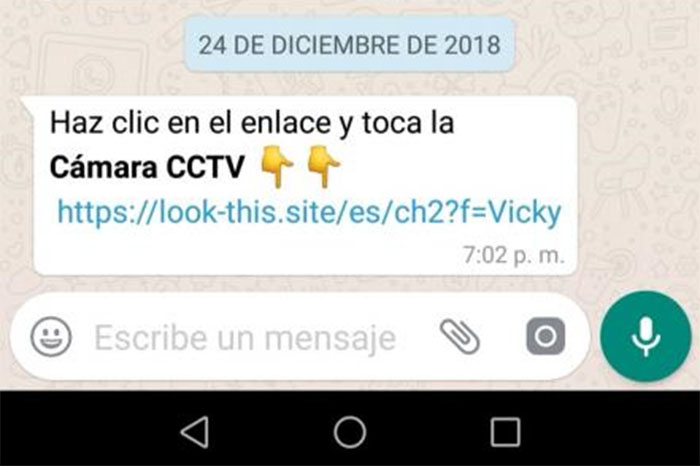 WhatsApp: Alertan que virus se propala disfrazado de saludo de Navidad ¡Mucho cuidado!
