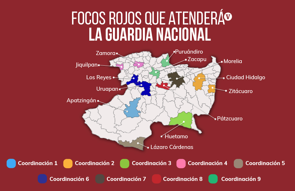 Así operarán las fuerzas federales en Michoacán con AMLO