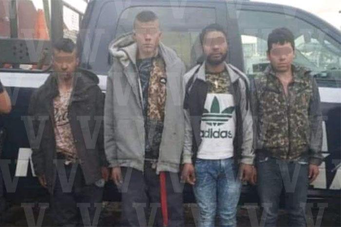 ECUANDUREO Detiene Policía Michoacán a 4 presuntos integrantes un grupo delincuencial en Ecuandureo (1)