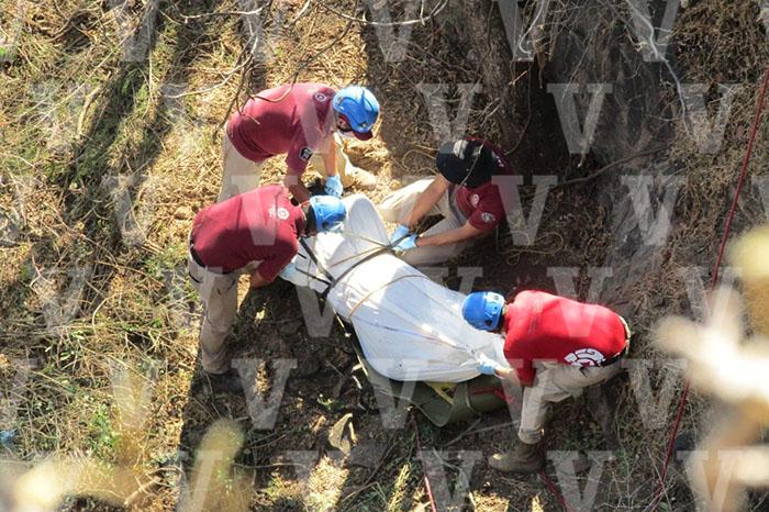 ZAMORA Encuentran dos ejecutados al fondo de una barranca en Zamora docx (2)