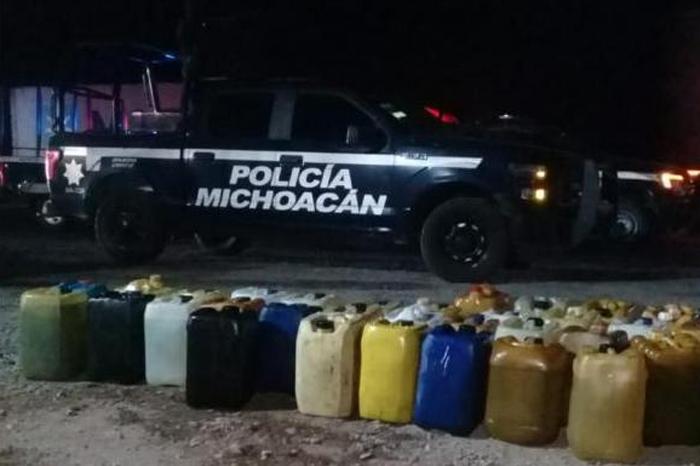 gasolina robada