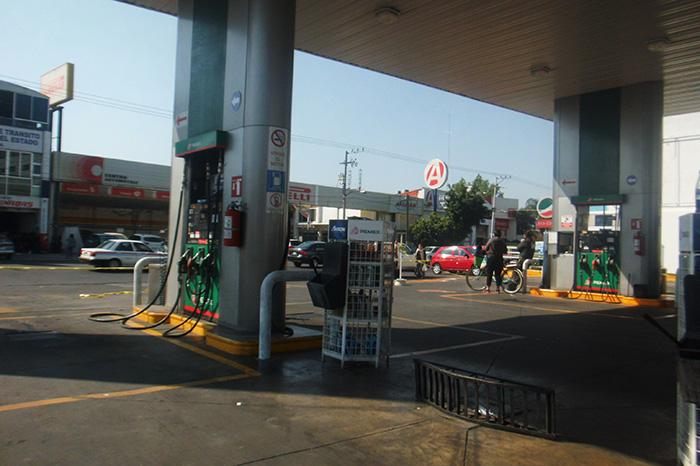 gasolina zamora