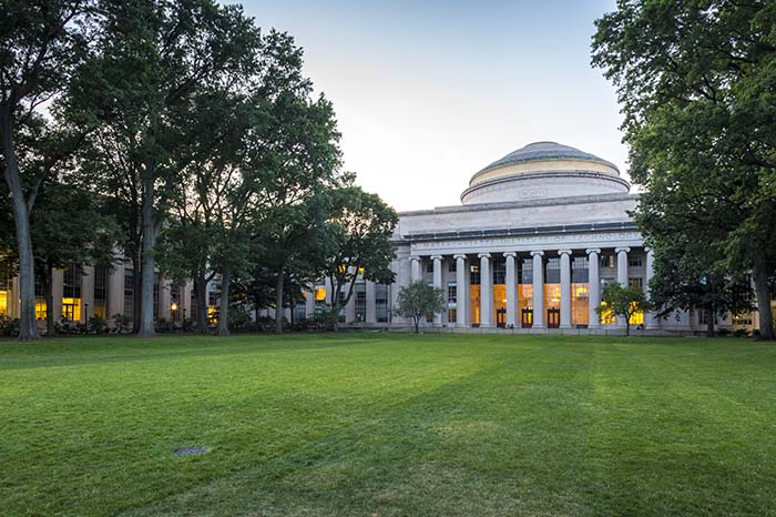 The Massachusetts Institute of Technology in Cambridge, Massachu