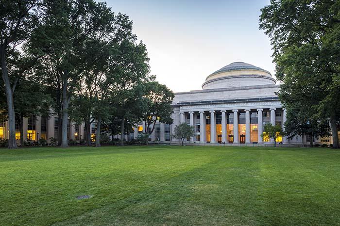 The Massachusetts Institute of Technology in Cambridge, Massachu