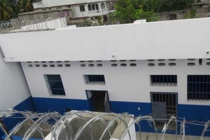 carcel en haiti