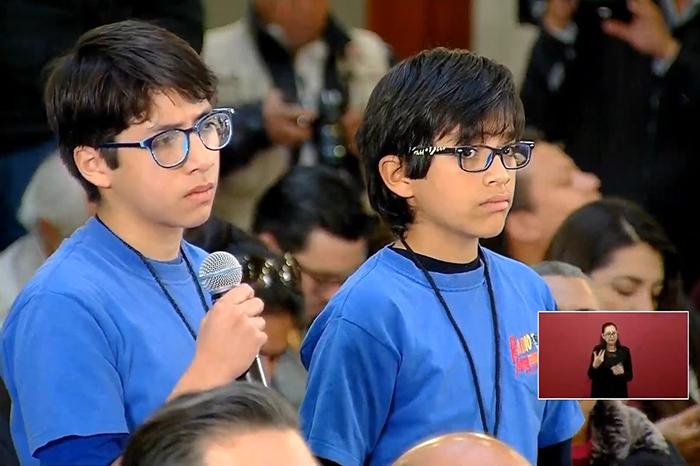 niños reporteros