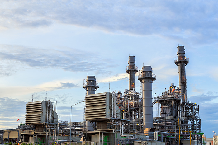 planta de generación eléctrica