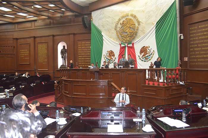 MORELIA Aprueba congreso estatal reforma sobre prisión preventiva oficiosa