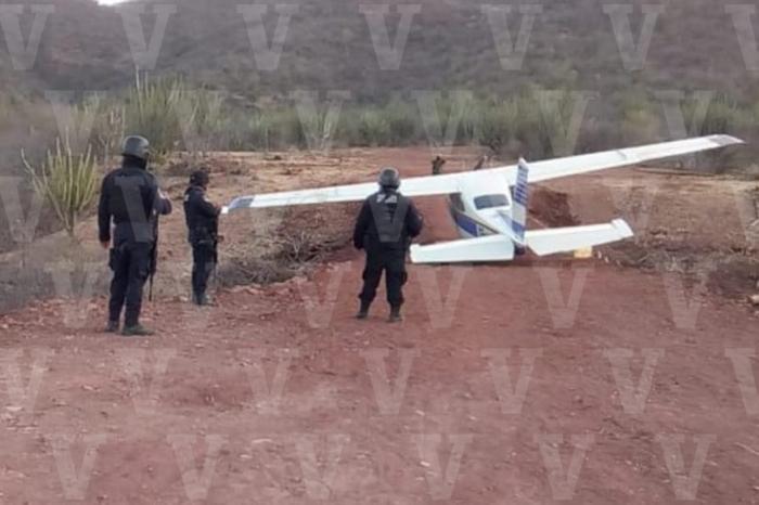 avioneta con cocaína