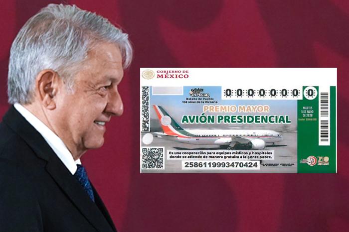 AMLO responde a Panteón Rococó tras críticas por rifa del avión presidencial