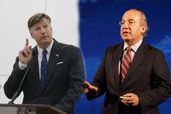 Choque Landau-Calderón, no el primero del ex presidente con embajador