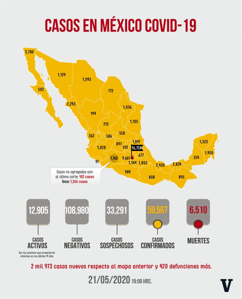 Fuente Dirección General de Epidemiología. Diseño La Voz de Michoacán